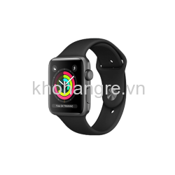 Apple Watch 3 - 38mm Space Gray Aluminum/ Sport Brand Gray (GPS) (Full VAT)